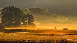 Fichtelgebirge - goldene Stunde