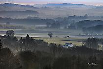Fichtelgebirge - Landschaft im Dunst
