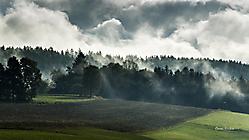 Fichtelgebirge - tiefe Wolken