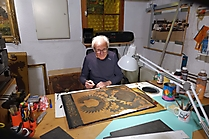 Der Maler Karl Höck