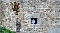 Kunst auf der Burg