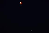 Mondfinsternis mit Mars 2018