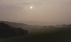 Nebel - Blick Oberdreisbachhöhe
