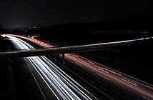 Drabenderhöhe_BAB 4 bei Nacht