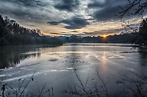 Sonnenaufgang am Herrenteich