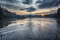 45 Stephan Tewes - Sonnenaufgang am Herrenteich